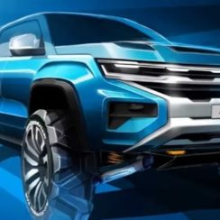 2022 Volkswagen Amarok Redesign by the Ford Partnership