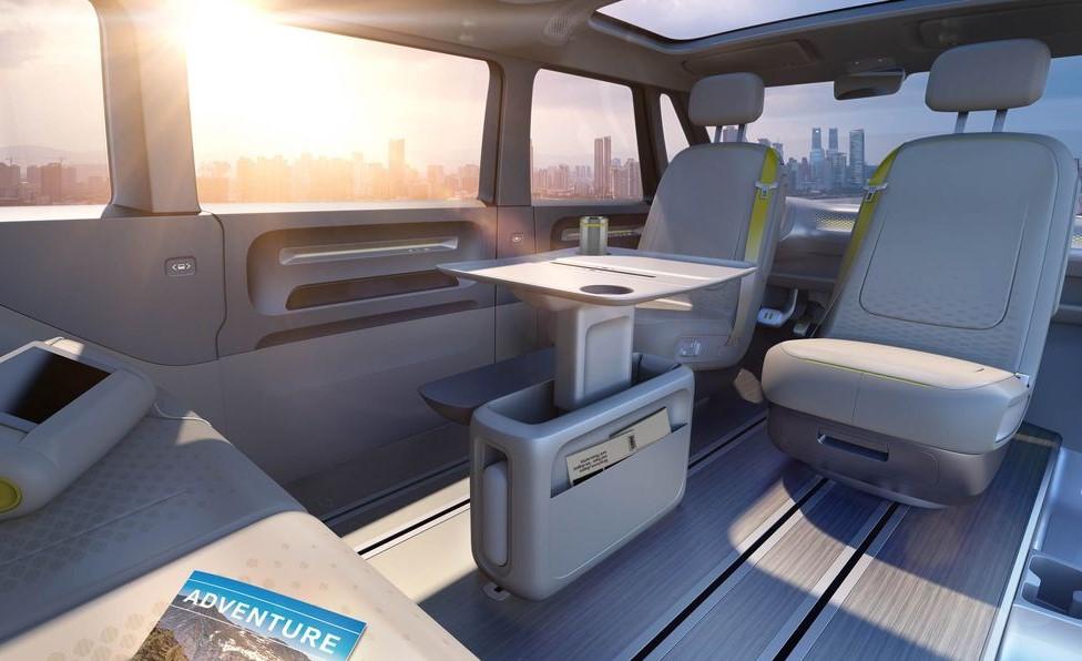 2022 Volkswagen Bus Interior