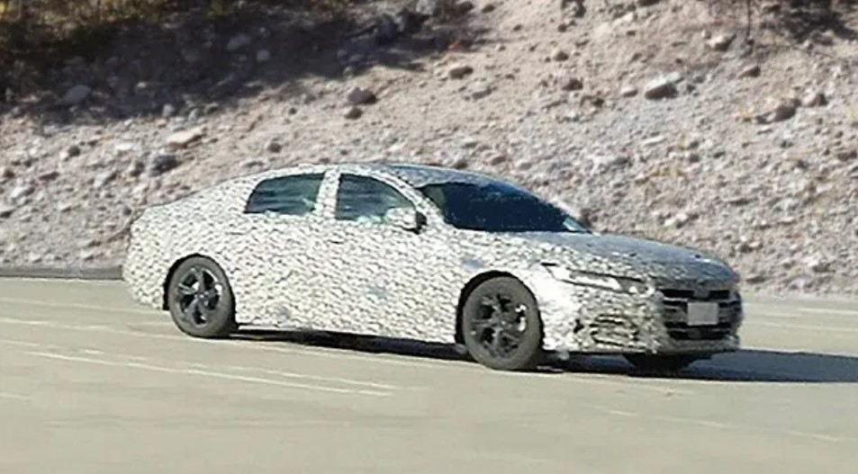 2023 Honda Accord Sport Spy Shots