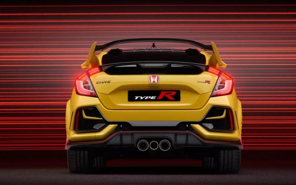 2023 Honda Civic Type R Updates