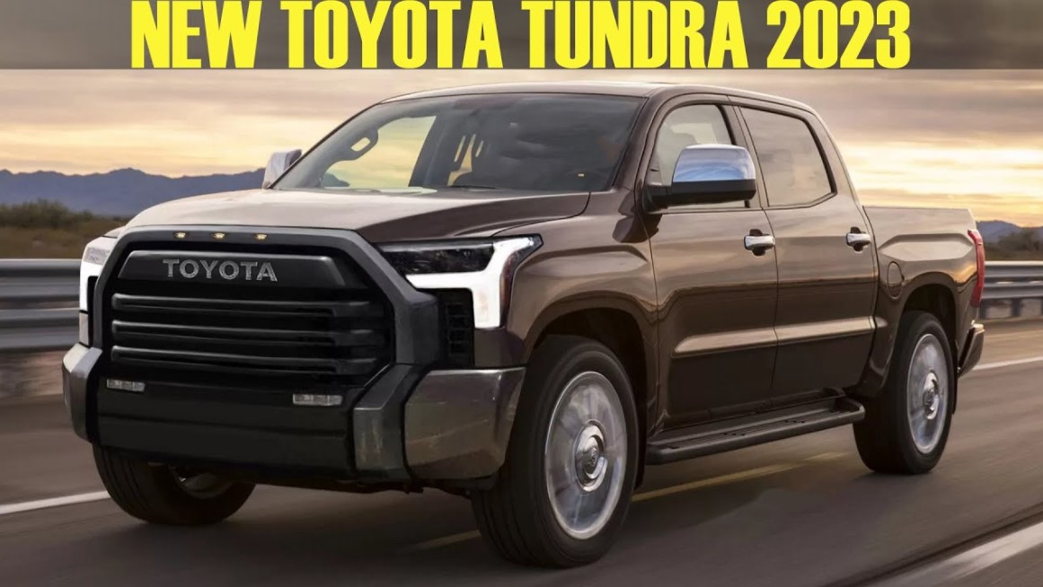The Upcoming 2023 Toyota Tundra, Expect Some Updates To Take Place For The New Model